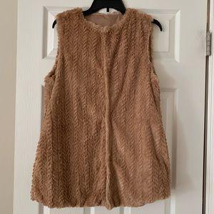 Betsey Johnson Faux Fur Vest